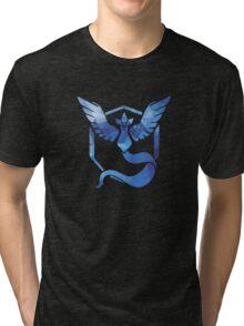 Pokémon Go Team Mystic v. Fractal  Tri-blend T-Shirt