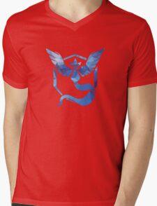 Pokémon Go Team Mystic v. Fractal  Mens V-Neck T-Shirt