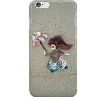 Wendy in the windy Weather iPhone Case/Skin