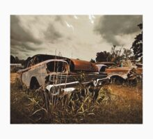 Abandoned 1959 Ford Galaxie 500 Kids Tee