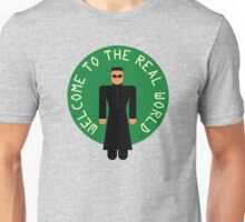 "-MOVIES- Matrix ""Welcoeme to the real world"" Unisex T-Shirt"