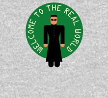 """-MOVIES- Matrix """"Welcoeme to the real world"""" Unisex T-Shirt"""