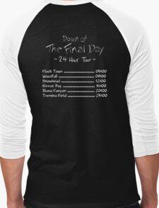 Dawn of the Final Day Official Tour Shirt Men's Baseball ¾ T-Shirt
