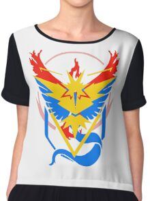 Pokemon Go teams fusion  Chiffon Top