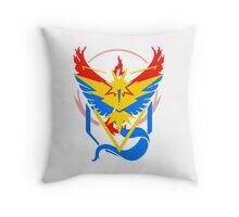 Pokemon Go teams fusion  Throw Pillow