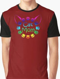 Cat Mom Graphic T-Shirt