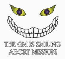 The GM Is Smiling Kids Tee
