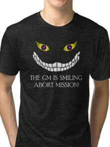 The GM Is Smiling Tri-blend T-Shirt