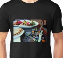 Middle Eastern Swatch Salad Unisex T-Shirt