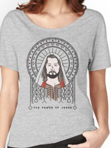 The power Of Jesus Women's Relaxed Fit T-Shirt