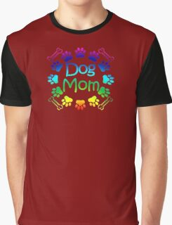 Dog Mom Graphic T-Shirt