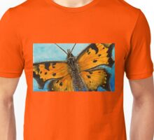 Grey Comma Butterfly Unisex T-Shirt
