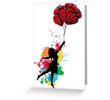 Cause everyone's heart doesn't beat the same - colored Greeting Card