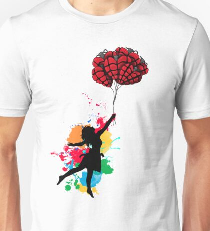 Cause everyone's heart doesn't beat the same - colored Unisex T-Shirt