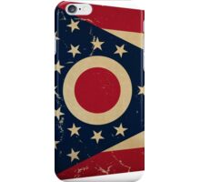 Ohio State Flag VINTAGE iPhone Case/Skin