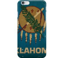 Oklahoma State Flag VINTAGE iPhone Case/Skin