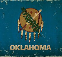 Oklahoma State Flag VINTAGE by Carolina Swagger