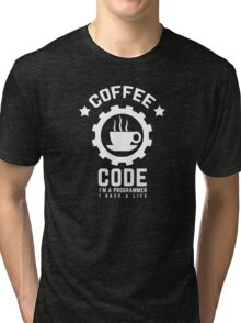 coffee and code Tri-blend T-Shirt