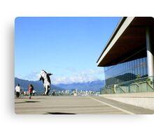 Vancouver, BC: 8-Bit Orca Canvas Print