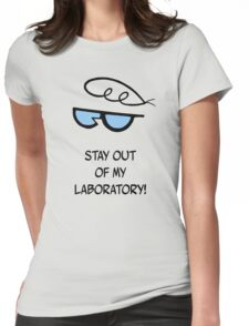Dexter's Laboratory Quotes Womens Fitted T-Shirt