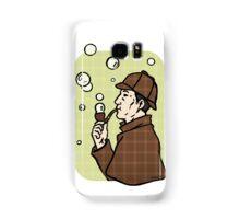 Bubbles, dear Watson Samsung Galaxy Case/Skin