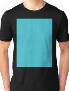 Blue Zebra Print Pattern T-Shirt