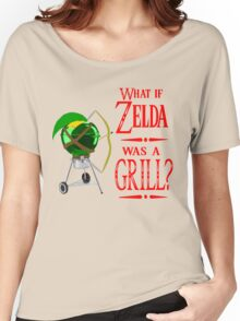 What if Zelda was a Grill? Women's Relaxed Fit T-Shirt