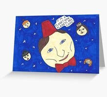 Planet Who Greeting Card