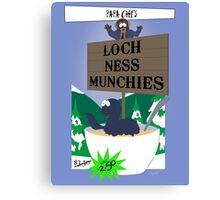 Papa Chef's Loch Ness Munchies Canvas Print