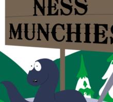 Papa Chef's Loch Ness Munchies Sticker