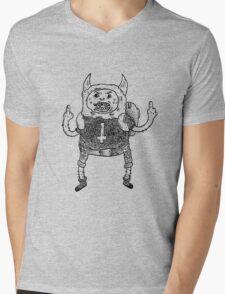 Adventure Time Black Metal Part. One Mens V-Neck T-Shirt