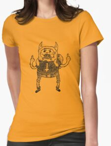 Adventure Time Black Metal Part. One Womens Fitted T-Shirt