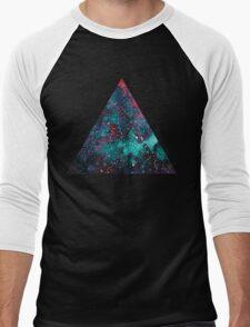 Galaxy Triangle Men's Baseball ¾ T-Shirt