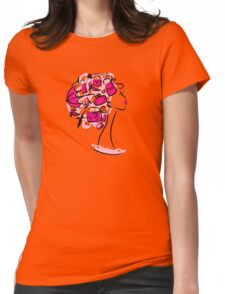 Female shopping Womens Fitted T-Shirt