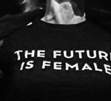 Gillian Anderson - The Future is Female Sticker