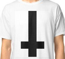 Indie/Grunge Upside Down Cross Classic T-Shirt