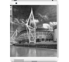 The Principality Stadium Monochrome iPad Case/Skin