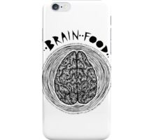 Brainfood. iPhone Case/Skin