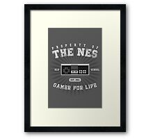 Property of the NES Framed Print