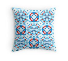 Hearts Squared Throw Pillow