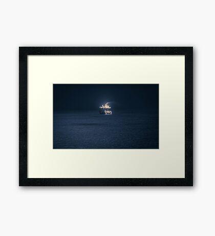 Dubrovnik Cruiser Framed Print