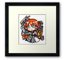 Etrian Loot (Color ver.) Framed Print
