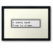 Pokemon Bed Framed Print