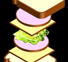 Bologna Sandwich by kwg2200