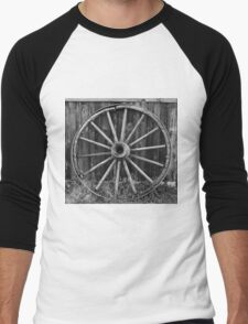 Wagon Wheel Men's Baseball ¾ T-Shirt
