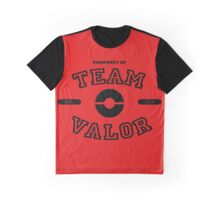Property of Team Valor Graphic T-Shirt