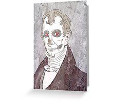William Henry Harrison: Szkieletor, Necromancer, Corpsemonger Greeting Card