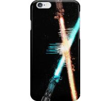 Lightsaber Clash iPhone Case/Skin