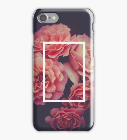 The 1975 Floral Rectangle iPhone Case/Skin
