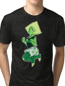 Peridot (Steven Universe) - Alien Boxers Tri-blend T-Shirt